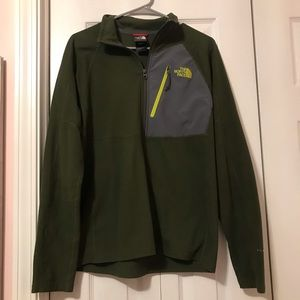 The North Face Olive Green Sweater
